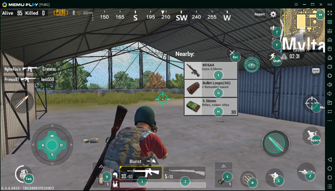 Play PUBG Mobile On PC With New MEMU 5 Android Emulator Software